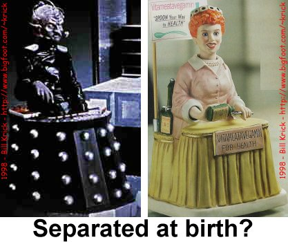 Davros & Lucy: Separated at birth?